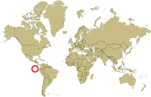 iles galapagos carte du monde - Photo